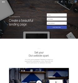 Another Free Divi Landing Pages Layout Pack
