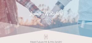 Divi Layout für Hochzeiten: Happily