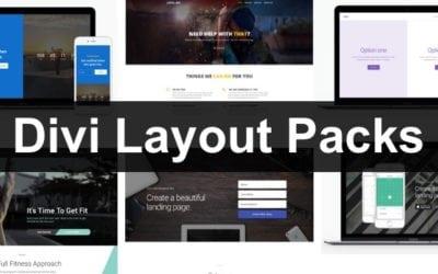Divi Layouts: vorbereitete Designs zum Herunterladen