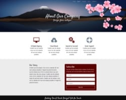 Free Divi Layout Pack: Cherry Blossom