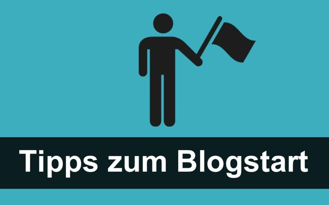 Blog Start: Tipps für Anfänger