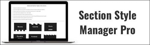 Section Style Manager Pro Plugin Logo
