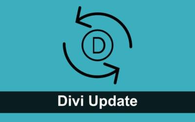 Divi Update: Auto-Save, Backup und Divi Builder Sync