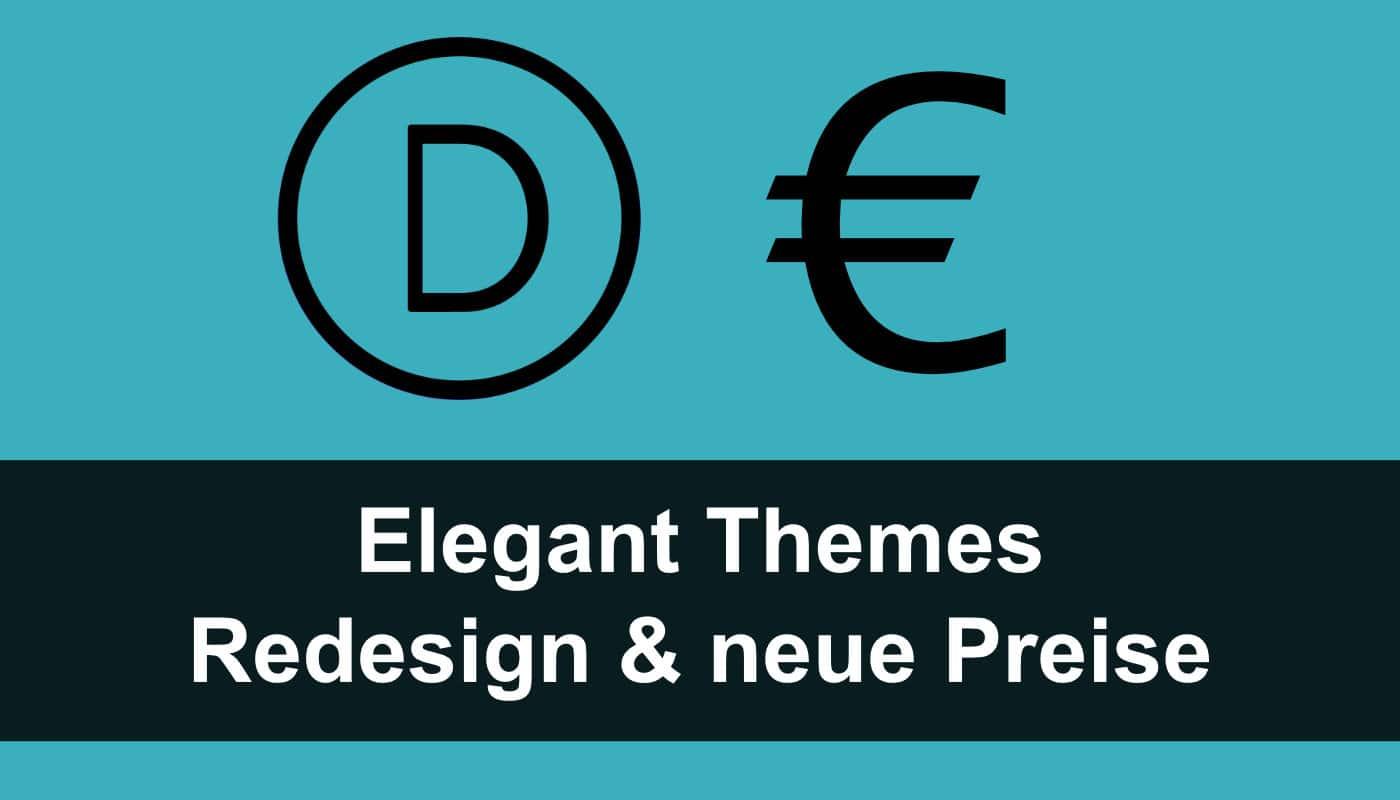 Divi Theme: neue Preise