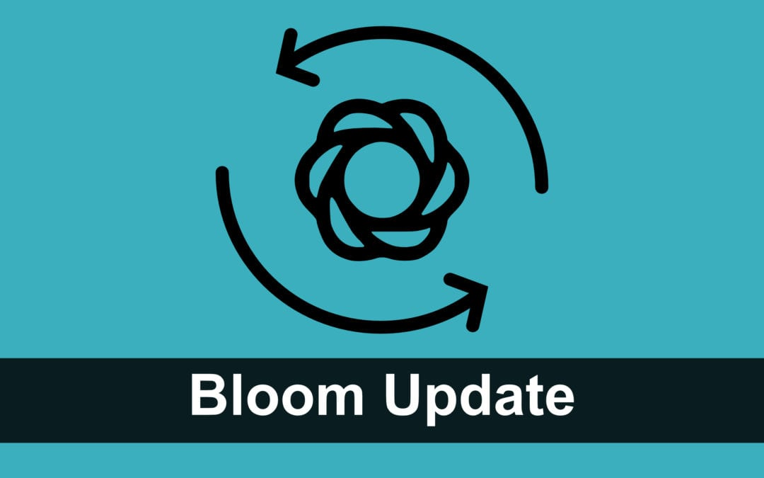 Bloom Plugin Update auf Version 1.2