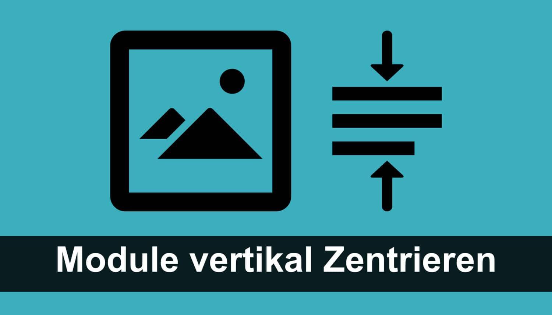 Divi: Module vertikal zentrieren