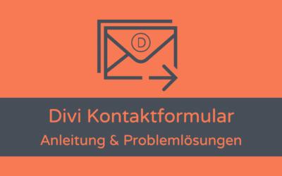 Divi Kontaktformular: Überblick, Anleitung, Problemlösungen