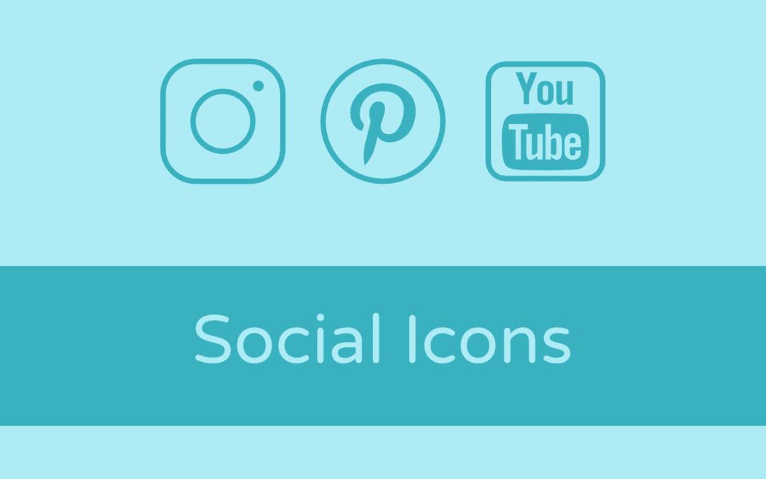 Soziale Netzwerke mit Icons in das Divi Theme einbinden
