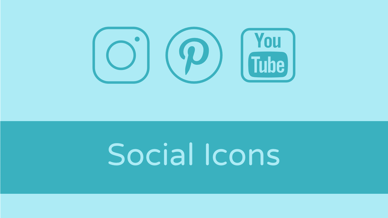 Social Icons für das Divi Theme