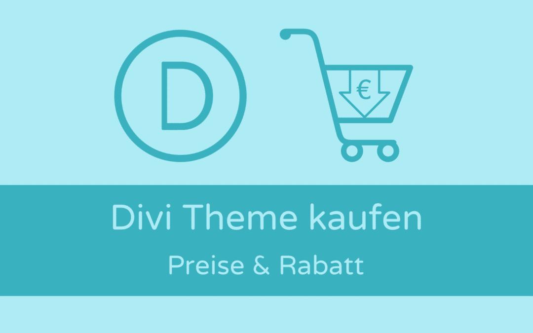 Divi Theme kaufen: Preise, Angebot & Rabatt