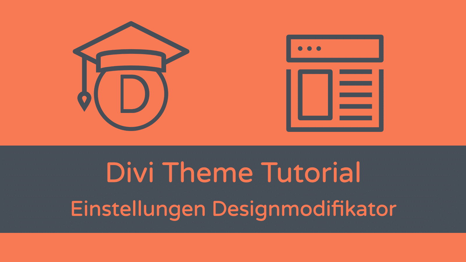 Divi Theme Tutorial: Designmodifikator (Customizer)