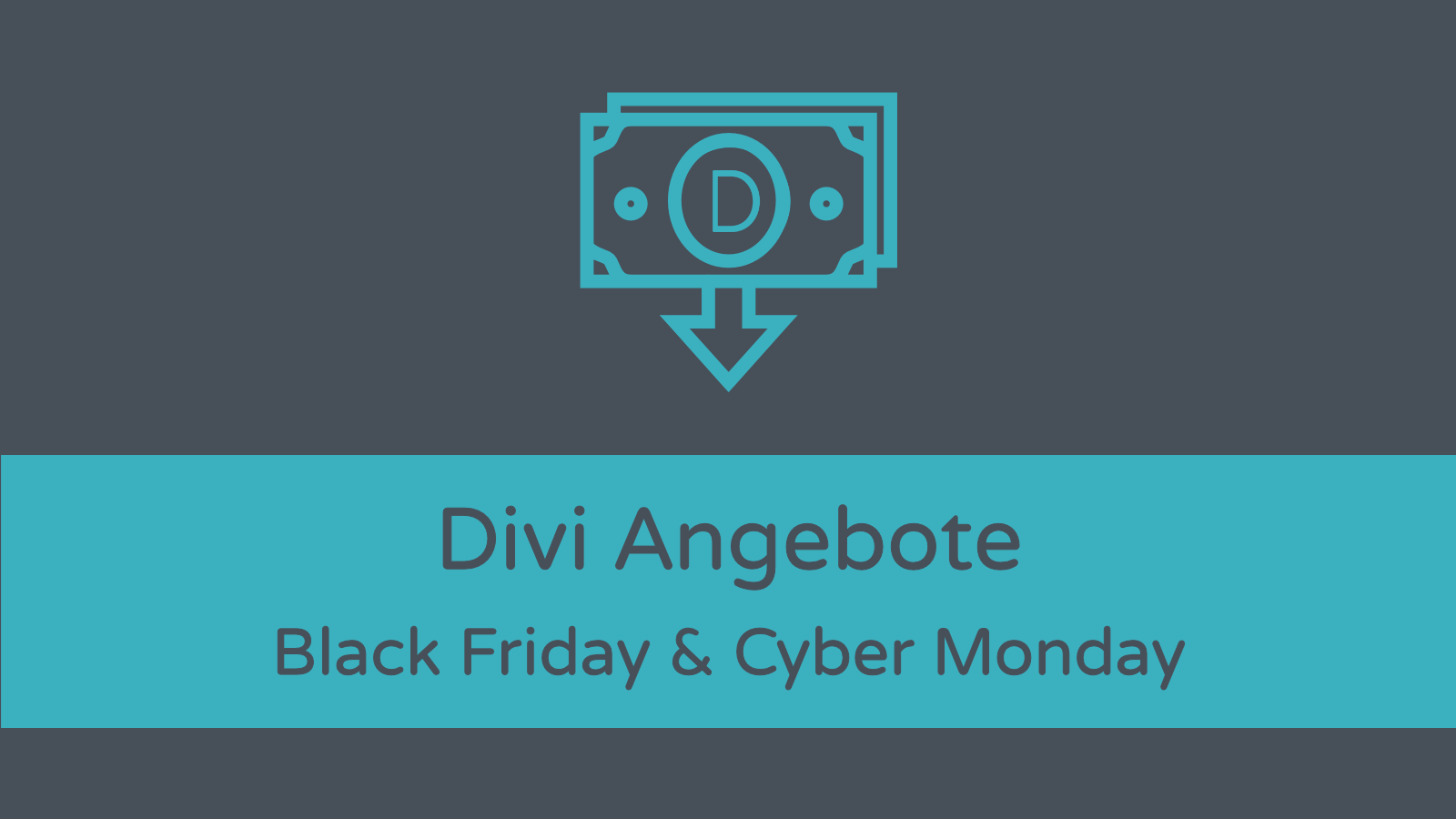 Divi Theme Angebote: Black Friday Cyber Monday