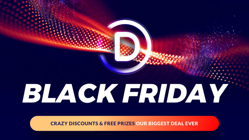 Divi Theme Black Friday Angebot & Rabatt
