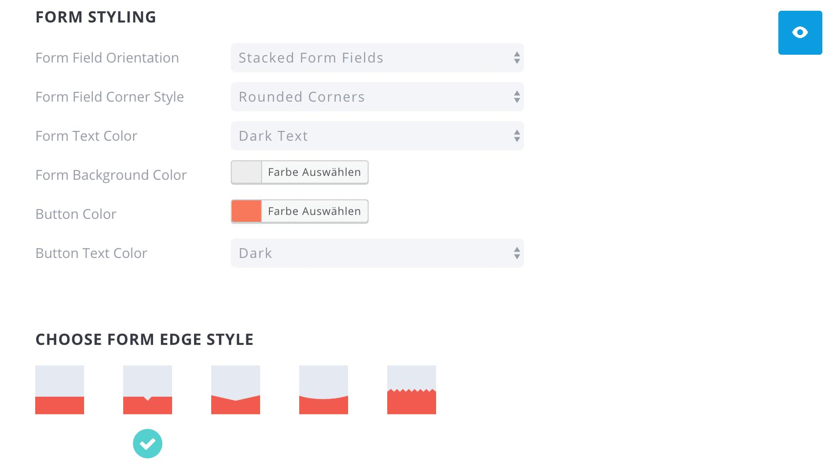 Bloom Popup Plugin Design Form Styling