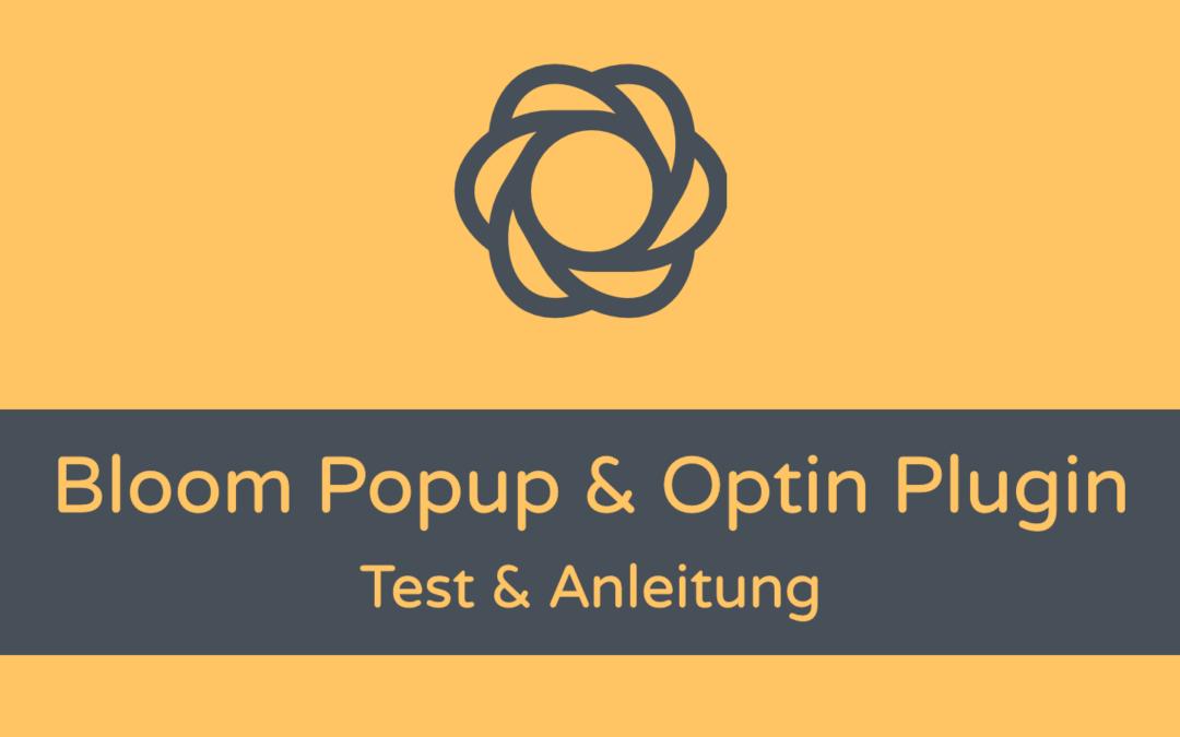 Bloom: Divi Popup Plugin Test & Anleitung