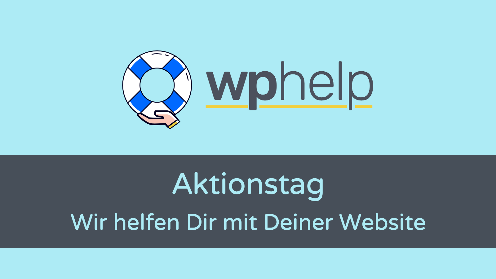 wphelp Aktionstag: Divi Support