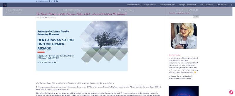Divi Website Screenshot
