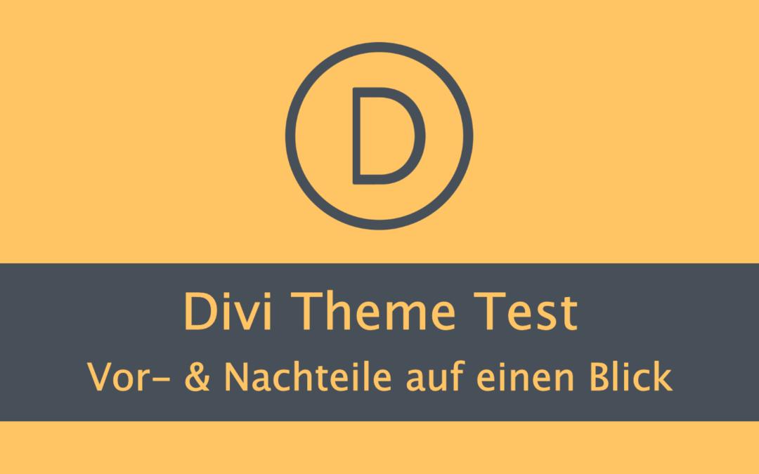 Divi Theme Test 2021: Vor- und Nachteile im Vergleich